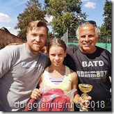 Владислав Петрович Городецкий и Виктория Милованова - победители Европейского турнира