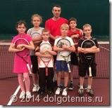 Летний лагерь 2014. Группа №4 (тренер Кобец Т.И.) в полном составе.