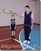 Максим Никаноров и Саша Хумонен. Теннис в Долгопрудном. 2003 год