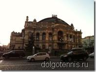 Киев. Оперный театр. Сентябрь 2011 г.