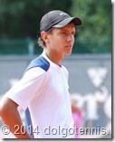 Макар Смоляков на турнире в Вильнюсе. Август 2014.