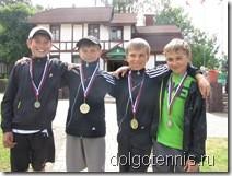 Победители турнира в Дмитрове