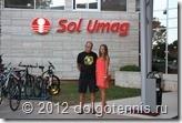 Александр Васильевич и Женя в Умаге, Хорватия. Июль 2012 г.
