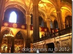 В Кафедральном соборе Барселоны.