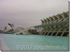 Город искусств и наук — грандиозный комплекс музеев и выставочных залов. Архитектор — Сантьяго Калатрава.
