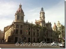 Валенсия. Здание Мэрии на Площади Городского Собрания.