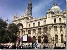 Валенсия. Здание Главпочтампта (Correos y Telegrafos) на Площади Городского Собрания.