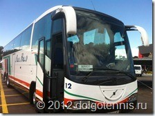 Автобус - наш второй дом в Испании.