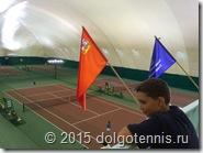 Никита Серафимов на турнире в Пироговском