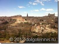 Толедо. Панорама древнего города.