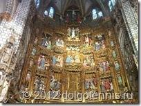 Главный алтарь Кафедрального собора Святой Марии в Толедо.