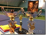 Теннис в Долгопрудном. Турнир в Щёлково.