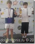 Иван Попов - победитель в парном и финалист в одиночном разрядах на турнире в Академии Островского