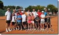 Участники Турнира семейных пар перед началом соревнований. Умаг, Хорватия, 14 августа 2011г.