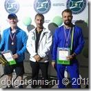 Призёры турнира в ТЦ Долгопрудный