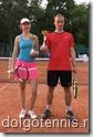 Победители турнира в Королёве Юля Иванова и Дмитрий Майстренко
