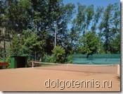 Долгопрудный - теннис. Июнь 2011 - грунтовый теннсный корт в Долгопрудном восстановлен!