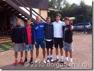 Победители и финалисты в одиночном и парном разряде турнира Pirogovsky Summer Camp