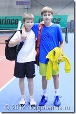 Лёша Негребецкий и Митя Мартинович