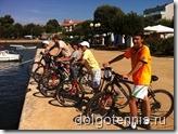 Веломарафон. Учебно-тренировочные сборы в Хорватии, август 2011
