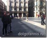 Никита в Испании. Барселона, апрель 2012 г.