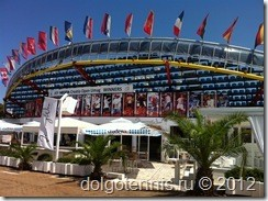 Центральный корт стадиона Stella Maris
