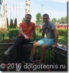 Тимофей Кобец и Макар Смоляков на турнире в Люберцах