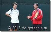Никита Иванченко и Кобец Тимофей. На тренировке. Сентябрь 2012 г. Долгопрудный.