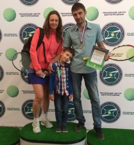 Спортивная семья - Денис, Аня и Максим Рубинштейн