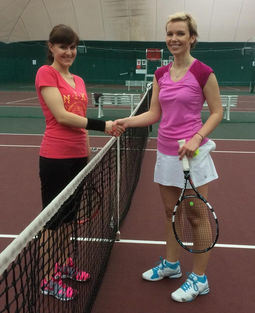 В полуфинале: Валерия Данилина и Татьяна Азметова