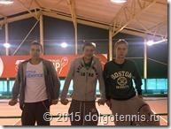 """На турнире ITF """"Green Cup"""" в Питере. Макар Смоляков, Илья Филичев, Митя Мартинович"""