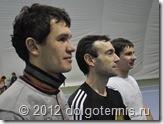 Основатели секции тенниса ДЮСШ г. Долгопрудного. Максим Никаноров, Тимофей Кобец, Никита Колосов.