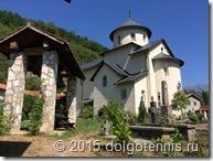 Церковь Успения Богоматери — главный храм монастыря Морача