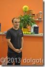 Организатор турнира, главный тренер Теннисного Центра Мытищи Всеволод Владимирович Нагаев