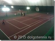 Матчи Первенства ТЦД проходили на кортах уменьшенного размера согласно регламенту ITF