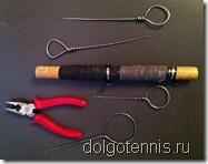 Инструмент для натяжки струн на теннисных ракетках во второй половине прошлого века.
