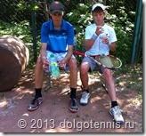 Летний лагерь в Долгопрудном. Дима Кураксин и Влад Серафимов. Июнь 2013 г.