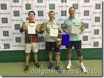 Иван Иванов (тренер Никаноров М.А.) - третий на турнире Теннис-Арт