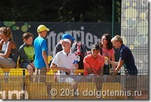 На турнире в Вильнюсе. Август 2014.