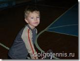 Февраль 2006 г. Занятия в спортзале школы № 5 г.Долгопрудного