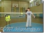 Кирилл Баранов на тренировке в спортзале школы №5. Март 2007 г. Долгопрудный
