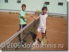 На одном из матчей турнира серии АЛТ встретились Миша Дорофеев и Саша Попов. Северный, июль, 2006 г.