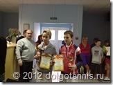 Победители парного разряда на турнире Призёры ПЕРВЕНСТВА СЕВЕРО-ЗАПАДНОГО ФЕДЕРАЛЬНОГО ОКРУГА