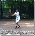 Летний теннисный лагерь в Долгопрудном. Влад Серафимов.