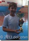 Дима Булыгин - победитель дополнительного турнира ( для проигравших в первом круге 15-го Турнира на призы Московской Кофейни на паяхъ)