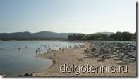 Песчанный пляж в Дюнах