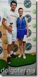 Победители парного турнира Максим Никаноров и Евгения Пятакова