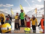 Вася Никитин - победитель международного турнира по горнолыжному слалому в австрийском Зёльдене