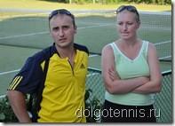 Организаторы теннисных сборов в Болгарии - Нагаев Всеволод и Серёгина Елена