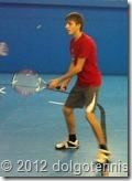 Секция тенниса МФТИ. Иван Васнев. (ФФКЭ, 2 курс)